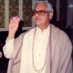 Gururaj with Flower