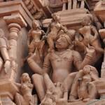 Sex statue in temple