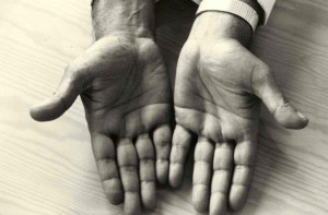 Hands of Gururaj