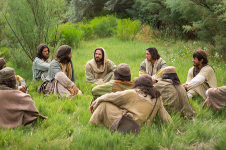 The <b>disciples</b> <b>of Jesus</b> and His <b>teachings</b>