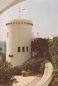 Saludando_desde_el_castillo