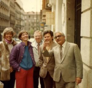 gururaj ananda in Madrid 1984